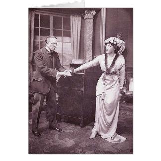 Sir Gerald du Maurier & Miss Ellis Jeffreys Card