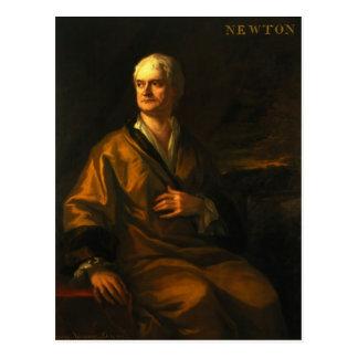 Sir Isaac Newton, 1710 Postcard