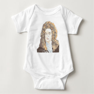 Sir Isaac Newton Baby Bodysuit