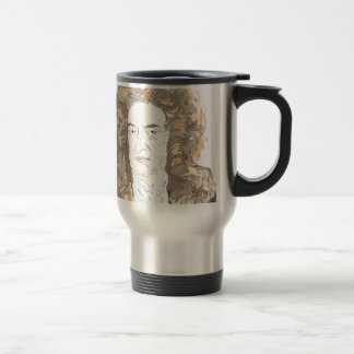 Sir Isaac Newton Travel Mug