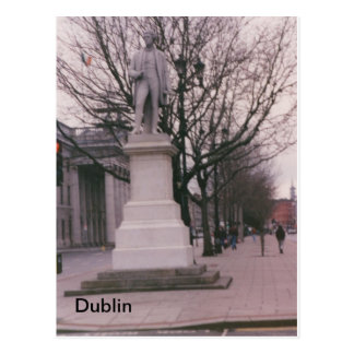 Sir John Gray Monument, O'Connell St., Dublin, Ire Postcard