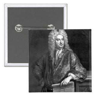 Sir John Vanbrugh 15 Cm Square Badge