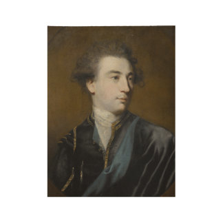 Sir Joshua Reynolds, P.R.A. PORTRAIT OF WILLIAM HA Wood Poster