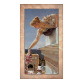 Sir Lawrence Alma-Tadema - God Speed! Poster