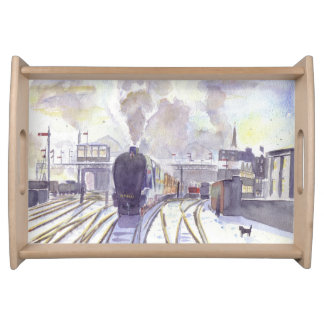 Sir Nigel Gresley serving tray