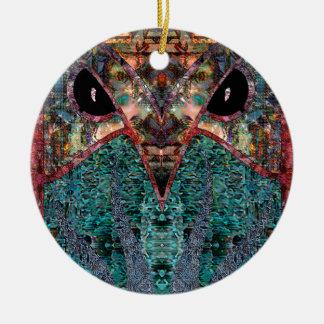 Sir Owl Ceramic Ornament