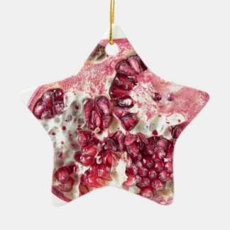 Sir Pomegranate Ceramic Ornament