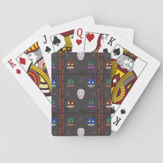 Sir Skull Dark Playing Cards