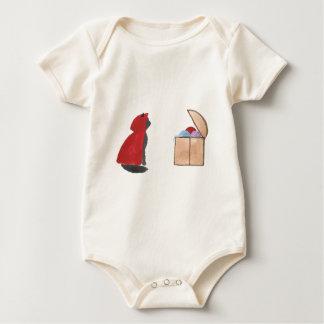 Sir Squeaker of Kittenton Is Victorious Baby Bodysuit