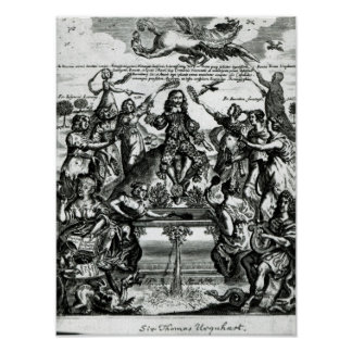 Sir Thomas Urquhart Print