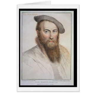 Sir Thomas Wyatt (c.1503-42) engraved by Francesco Card