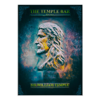 Sir William Temple Poster