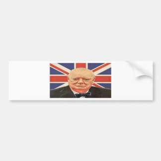Sir Winston Churchill Bumper Sticker