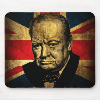 Sir Winston Churchill Mouse Pad
