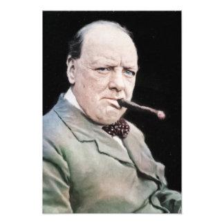Sir Winston Churchill Photo Art