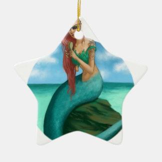 Siren Ceramic Star Decoration