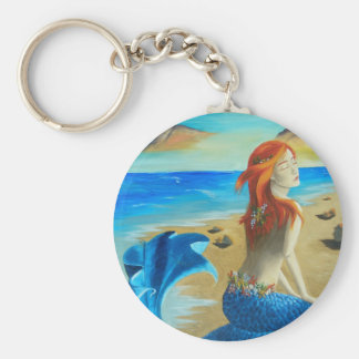 Siren - mermaid key ring