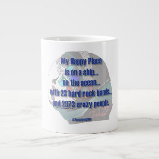Siren - My Happy Place Large Coffee Mug