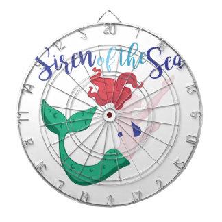 Siren Of Sea Dartboard