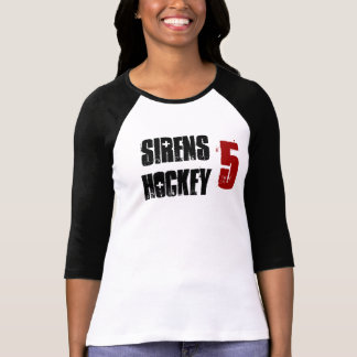 sirens jersey with number T-Shirt