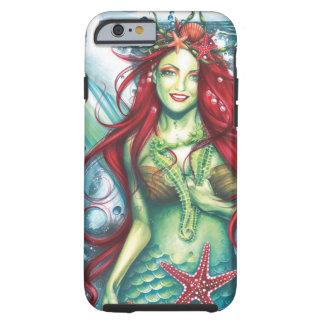 Sirens Love a Mermaids Kiss Shirt Tough iPhone 6 Case