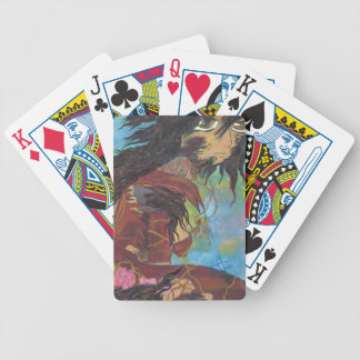 Siris in Transformation - Monster Book 1 cover art Bicycle Playing Cards