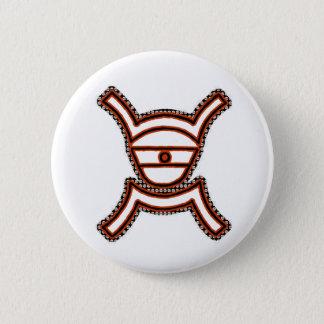 Sirius 6 Cm Round Badge