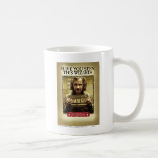 Sirius Black Wanted Poster Coffee Mug