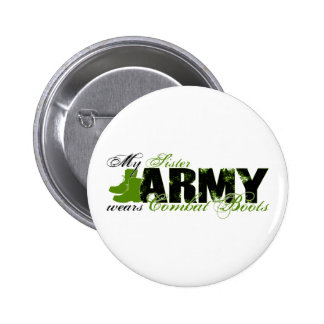 Sis Combat Boots - ARMY Pins
