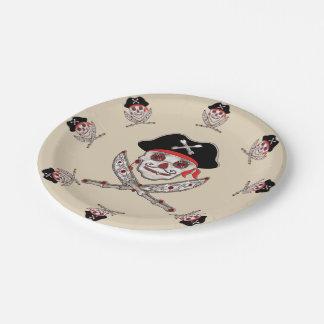 Sisal Pirate Paper Plate