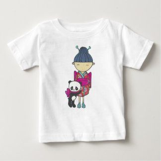 Sishu and bamboo baby T-Shirt
