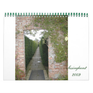 Sissinghurst 2009 calendars