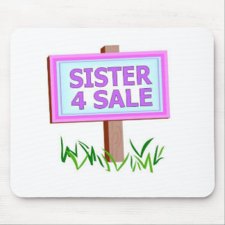 sister 4 sale mouse pad