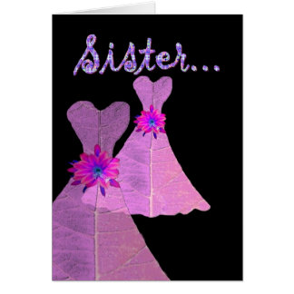 SISTER_ Be My Maid of Honour - Customizable Card