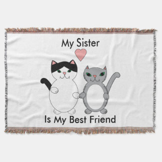 Sister Best Friend Cats Personalize