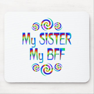 Sister BFF Mouse Pad