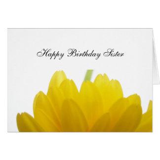 Sister Birthday Greetings Card