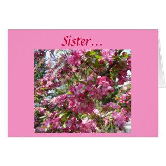 Sister... Card