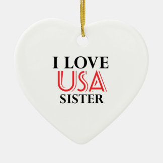 SISTER design Ceramic Heart Decoration