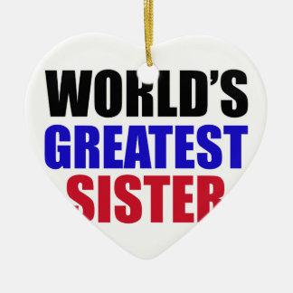 sister design christmas ornament