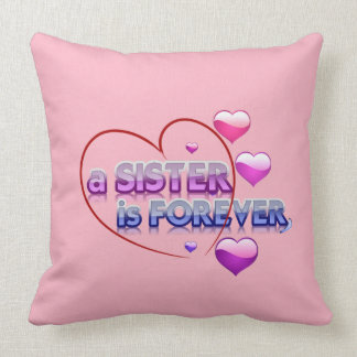 Sister for you cushion