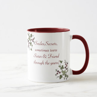 Sister & Friend Mug