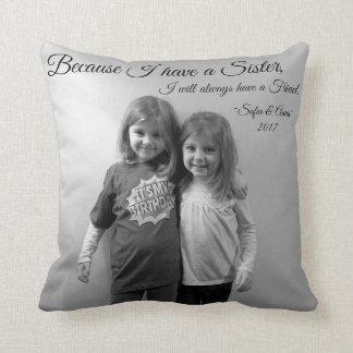 Sister Friend Pillow Print Saying Names Year