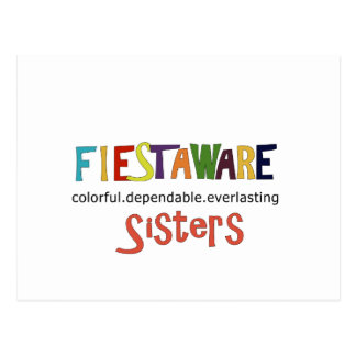 Sister Girlfriends Dependable Everlasting Postcard