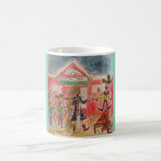 Sister Golden Hair and The Sandridge Boys Coffee Mug