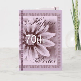 Sisters 70th Birthday Cards