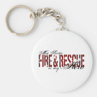 Sister Hero - Fire & Rescue Key Ring