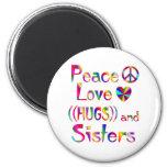 Sister Hugs Magnet