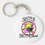 Sister in Brotherhood Keychain
