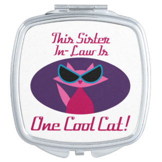 Sister-In-Law Cool Cat Vanity Mirror